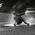 mercedes silver slipstreams downhill skateboarding video